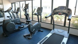 Running machines & exercise bikes