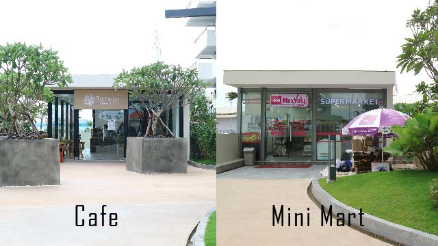 Bodaiju Cafe & AEON Maxvalu Mini Mart Open!